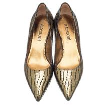 Туфли женские  Цвет:зеленый Артикул:0262087 2