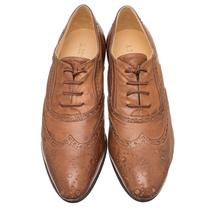 Туфли женские  Цвет:коричневый Артикул:0262090 2