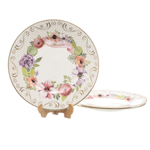 Набор тарелок 3 предмета  Цвет:розовый Артикул:1700711 1