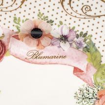 Набор тарелок 3 предмета  Цвет:розовый Артикул:1700711 2