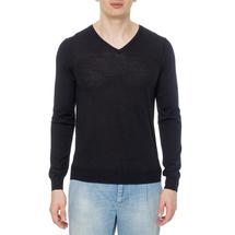 Пуловер мужской  Цвет:черный Артикул:0970264 1
