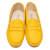 Мокасины женские  Цвет:желтый Артикул:0262112 2