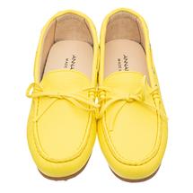 Мокасины женские  Цвет:желтый Артикул:0262114 2