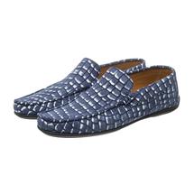 Мокасины мужские  Цвет:синий Артикул:0359803 1