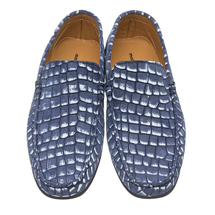 Мокасины мужские  Цвет:синий Артикул:0359803 2