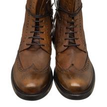 Ботинки мужские  Цвет:коричневый Артикул:0359842 2