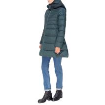 Пальто женское  Цвет:зеленый Артикул:0661384 2