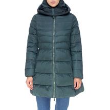 Пальто женское  Цвет:зеленый Артикул:0661384 1