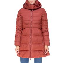 Пальто женское  Цвет:красный Артикул:0661384 1