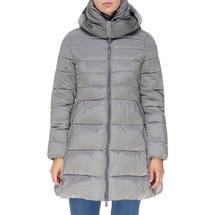Пальто женское  Цвет:серый Артикул:0661384 1