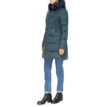 Пальто женское  Цвет:зеленый Артикул:0661385 2