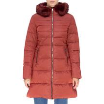 Пальто женское  Цвет:красный Артикул:0661385 1