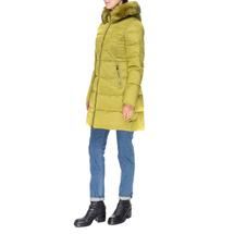 Пальто женское  Цвет:салатовый Артикул:0661385 2
