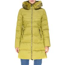 Пальто женское  Цвет:салатовый Артикул:0661385 1