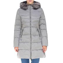 Пальто женское  Цвет:серый Артикул:0661385 1