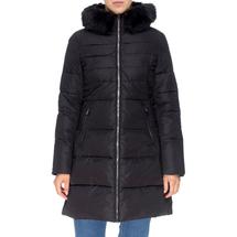 Пальто женское  Цвет:черный Артикул:0661385 1