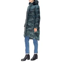 Пальто женское  Цвет:зеленый Артикул:0661386 2