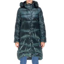 Пальто женское  Цвет:зеленый Артикул:0661386 1