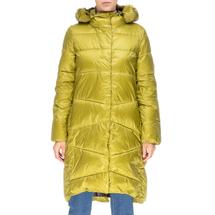 Пальто женское  Цвет:салатовый Артикул:0661386 1