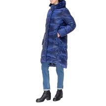 Пальто женское  Цвет:синий Артикул:0661386 2