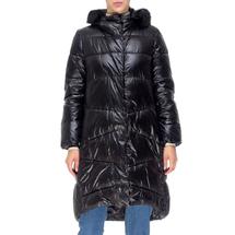 Пальто женское  Цвет:черный Артикул:0661386 1