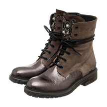 Ботинки женские  Цвет:коричневый Артикул:0262214 1