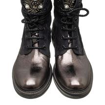 Ботинки женские  Цвет:черный Артикул:0262214 2