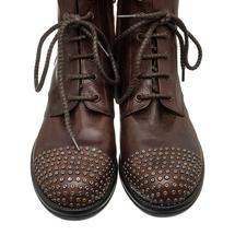 Ботинки женские  Цвет:коричневый Артикул:0262215 2