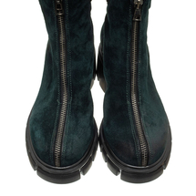 Ботинки женские  Цвет:зеленый Артикул:0262220 2
