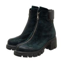 Ботинки женские  Цвет:зеленый Артикул:0262220 1