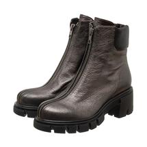 Ботинки женские  Цвет:серый Артикул:0262221 1