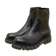 Ботинки женские  Цвет:черный Артикул:0262222 1