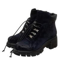 Ботинки женские  Цвет:синий Артикул:0262223 1