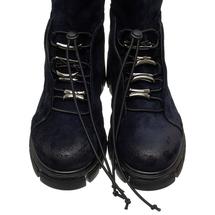 Ботинки женские  Цвет:синий Артикул:0262223 2