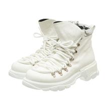 Ботинки женские  Цвет:белый Артикул:0262226 1