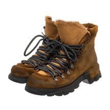 Ботинки женские  Цвет:коричневый Артикул:0262227 1