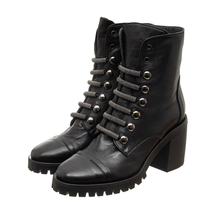 Ботинки женские  Цвет:черный Артикул:0262256 1