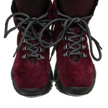 Ботинки женские  Цвет:бордовый Артикул:0262265 2