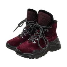 Ботинки женские  Цвет:бордовый Артикул:0262265 1