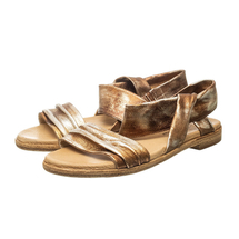 Сандалии женские  Цвет:бронзовый Артикул:0262189 1