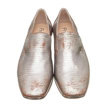 Туфли женские  Цвет:серебряный Артикул:0262201 2