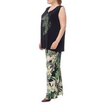 Брюки женские  Цвет:зеленый Артикул:0580171 2