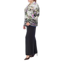Жакет женский  Цвет:зеленый Артикул:0580121 2