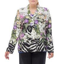Жакет женский  Цвет:зеленый Артикул:0580121 1