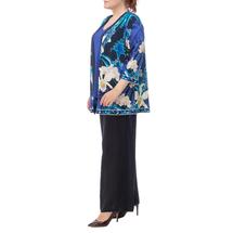 Кардиган женский  Цвет:синий Артикул:0579752 2