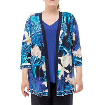 Кардиган женский  Цвет:синий Артикул:0579752 1
