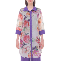 Кардиган женский  Цвет:сиреневый Артикул:0580113 1