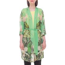 Кардиган/пояс женский  Цвет:зеленый Артикул:0580019 1