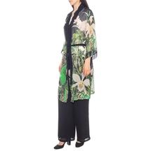 Кардиган/пояс женский  Цвет:зеленый Артикул:0580020 2