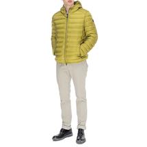 Куртка пуховая мужская  Цвет:салатовый Артикул:0863175 2